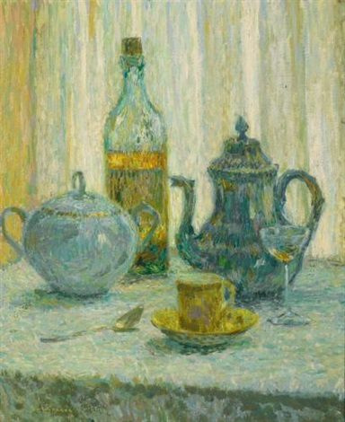 nature morte by henri le sidaner