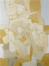 landscape forms - in ochres by patrick venton