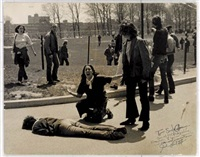 kent state shooting (mary ann vecchio leaning over the body of jeffrey miller) by john filo