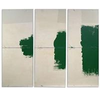 ohne titel (triptych) by manfred dorner