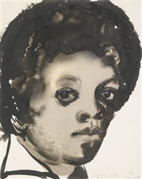 before the nose job by marlene dumas