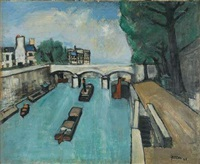 les quais à paris by arthur fillon