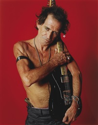 keith richards, rolling stone cover, boston by sante d'orazio
