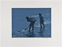 shrimping (+ 2 others; 3 works) by norman hepple