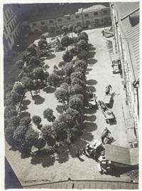 courtyard by alexander rodchenko
