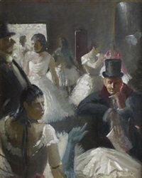 preparations for the ballet by robert henderson blyth