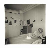 transvestite at her birthday party, n.y.c by diane arbus