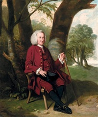portrait of dr thomas hanson of canterbury by johann joseph zoffany