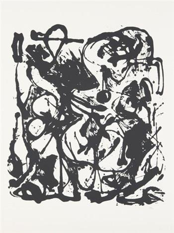 untitled (portfolio of 6) by jackson pollock