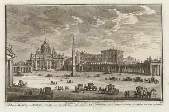 delle magnificenze di roma antica e moderna 115 works by giuseppe vasi