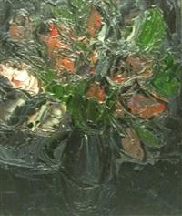 nature morte aux livres (+ 2 others, lrgr; 3 works) by michel aubert