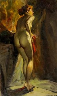 femme de dos by richard durando-togo