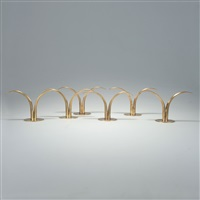sechs kerzenleuchter lily (set of 6) by ivar alenius-bjork