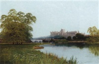 windsor from the thames by r. allan