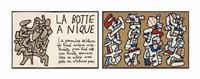 la botte à nique (bk w/1 work) by jean dubuffet