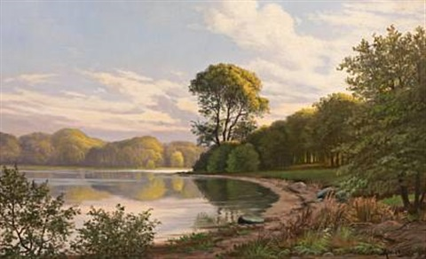 early afternoon by hellebæk by august jacobsen
