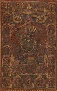 dharmaraja yama by anonymous-tibeto-chinese (16)