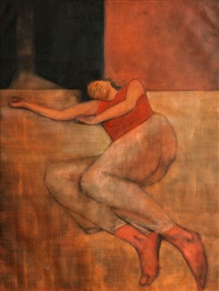 reclining figure by brian smyth