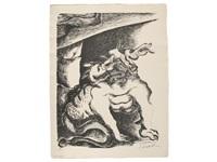 les travaux d'hercule - die arbeiten des herakles - the labours of heracles (bk w/28 works, folio) by ossip zadkine