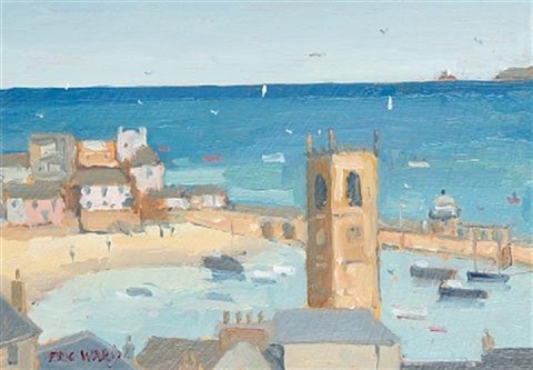 view of st ives another pair by eric ward
