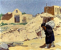 the washerwoman by walter ufer