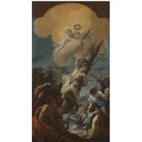 the martyrdom of saint sebastian by giovanni battista pace