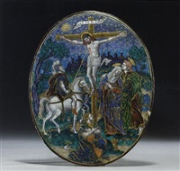 the crucifixion by jean vigier court the younger