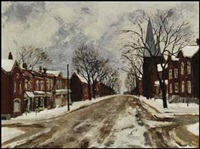 pearl street, hamilton by albert jacques franck