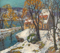 yellow house on the delaware by fern isabel coppedge