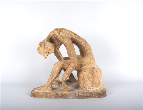 sitzender by germaine richier