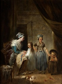 la toilette des enfants by jacques gamelin