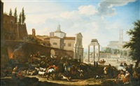 the campo vaccino, rome by jacob de heusch