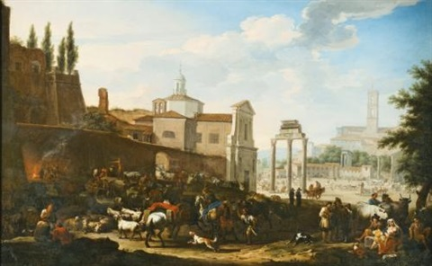 the campo vaccino rome by jacob de heusch