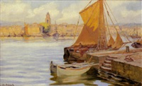 le port de saint tropez by aristide armand