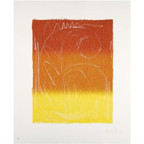 figure 6 from color numerals series by jasper johns