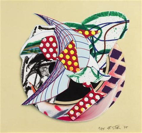 orofena from imaginary places iii by frank stella
