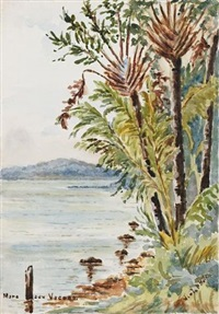 the coast at vacoas, mauritius (+ 11 others; 12 works) by violet h. hole