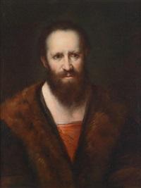 bildnis eines bärtigen mannes (apostel?) by johann ulrich mayr