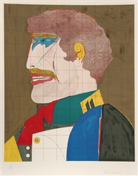 profile (from after noon) by richard lindner
