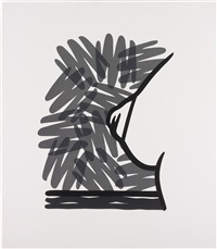 seascape tit with scribble by tom wesselmann
