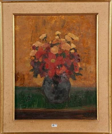 vase de fleurs by pierre paulus
