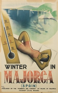 winter in majorca by carlos pontis