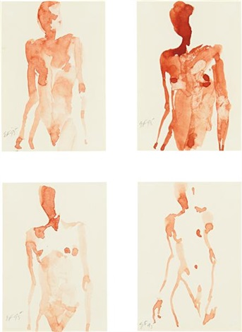 untitled in 4 parts by eric fischl