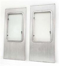 deux panneaux de fenêtre modèle dit cimt (set of 2) by jean prouvé