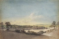 quebec from point levis by benjamin (major-general) fisher