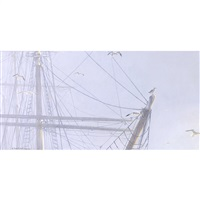 rigging and gulls by robert mclellan bateman