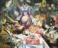 feiernde artisten by jana kremanova