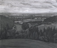 landschaft in der schwalm by franz martin lünstroth