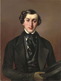portrait of a gentleman by fedor pavlovich bryullov