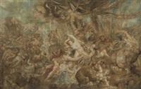 le combat des centaures et des lapithes by jacob jordaens